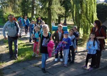 Relacja z wyjazdu dzieci kl. 1-4 do Mikoszewa